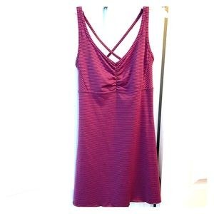 Pink Athleta dress
